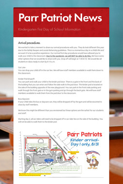 Parr Patriot News
