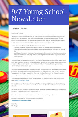 9/7 Young School Newsletter