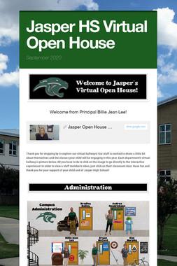 Jasper HS Virtual Open House