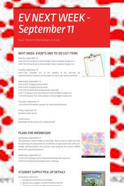 EV NEXT WEEK - September 11
