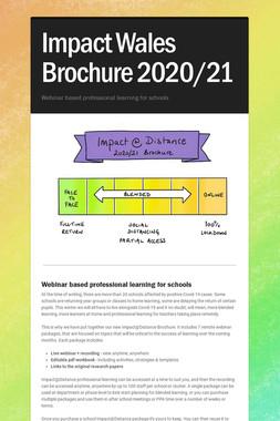 Impact Wales Brochure 2020/21