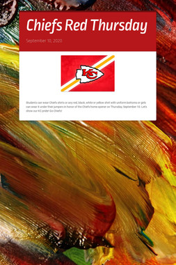 Chiefs Red Thursday