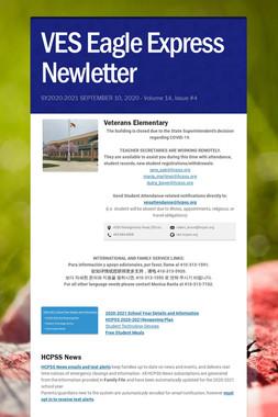 VES Eagle Express Newletter