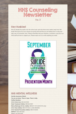 HHS Counseling Newsletter