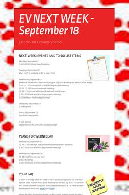 EV NEXT WEEK - September 18