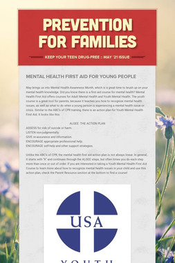 Prevention for Families