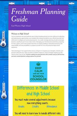 Freshman Planning Guide