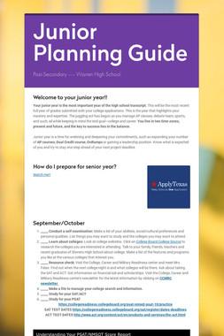 Junior Planning Guide