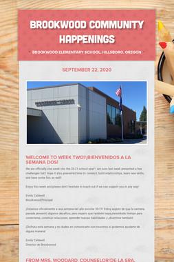 Brookwood Community Happenings