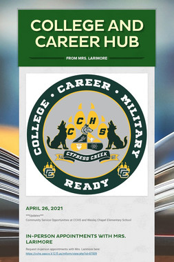 College and Career Hub