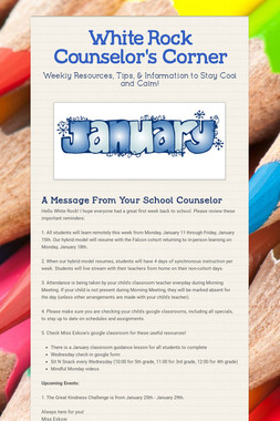 White Rock Counselor's Corner