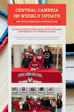 Central Cambria HS Weekly Update