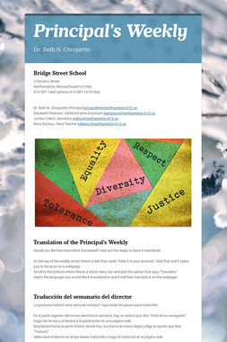Principal's Weekly
