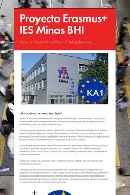 Proyecto Erasmus+  IES Minas BHI