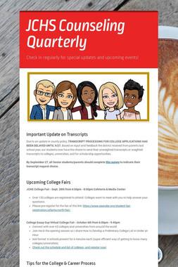 JCHS Counseling Quarterly