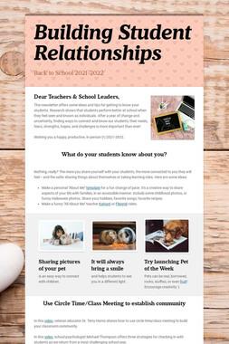Building Student Relationships