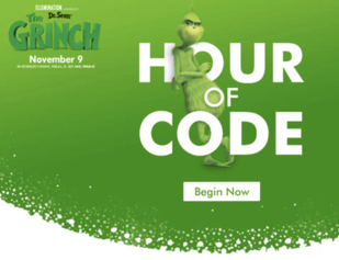 Image result for Hour of code grinch