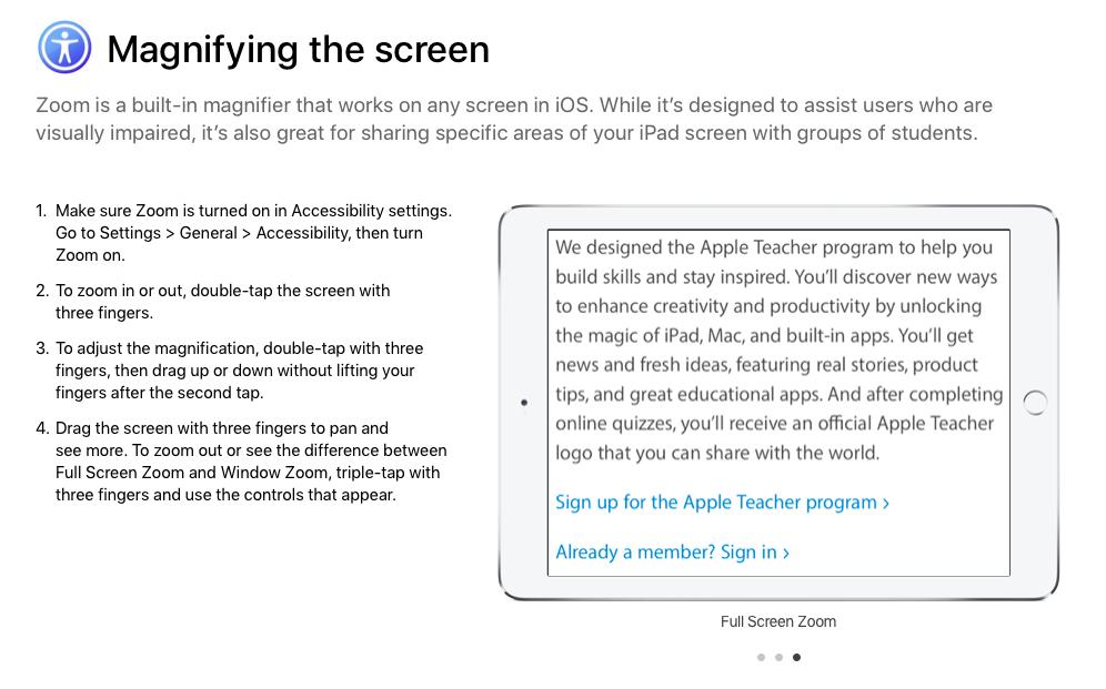 Apple Teacher | Smore Newsletters for Education