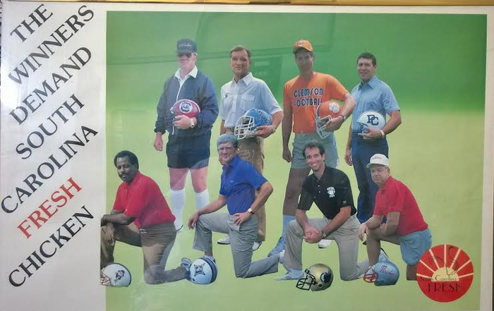 1985 Head Football Coaches - SC Colleges