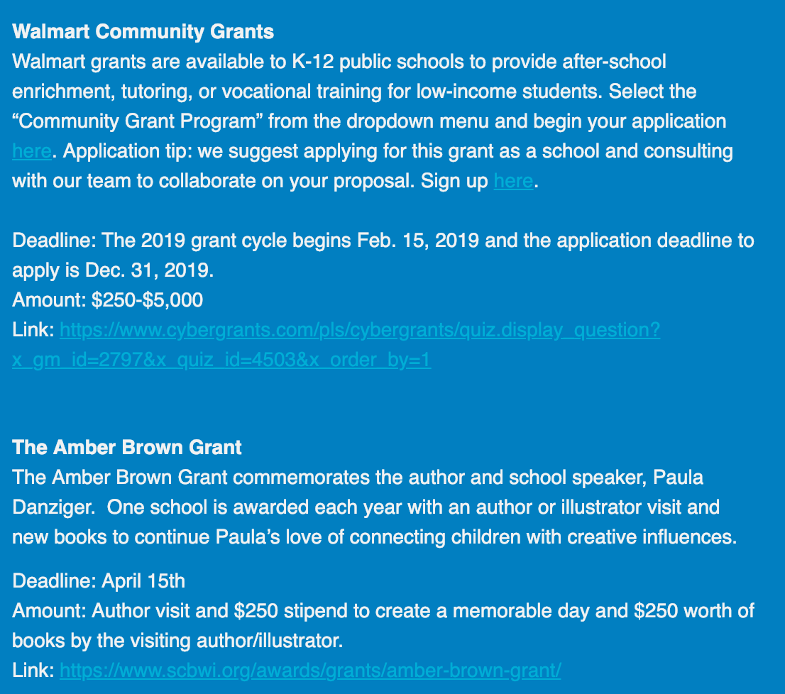 Pump UP the Volume Newsletter | Smore Newsletters for Education