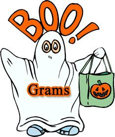 Terrible image with boo grams printable