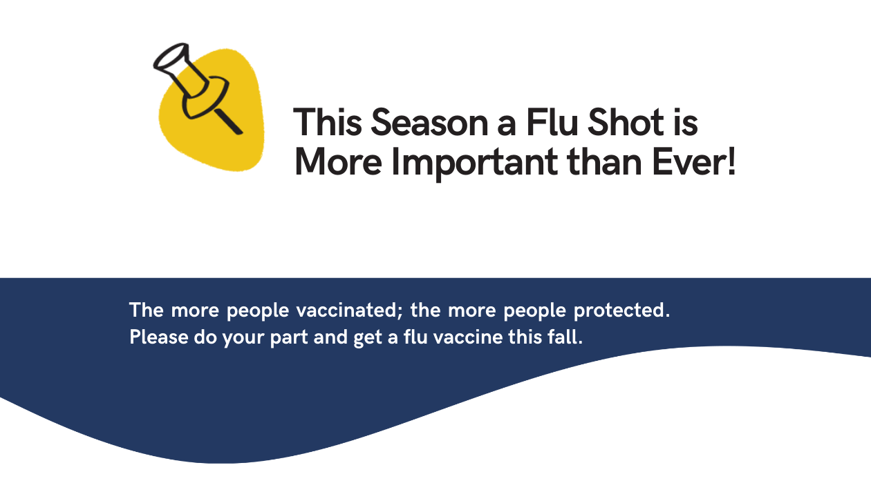 Flu Shot Vaccine! October 5th to October 27th 2021