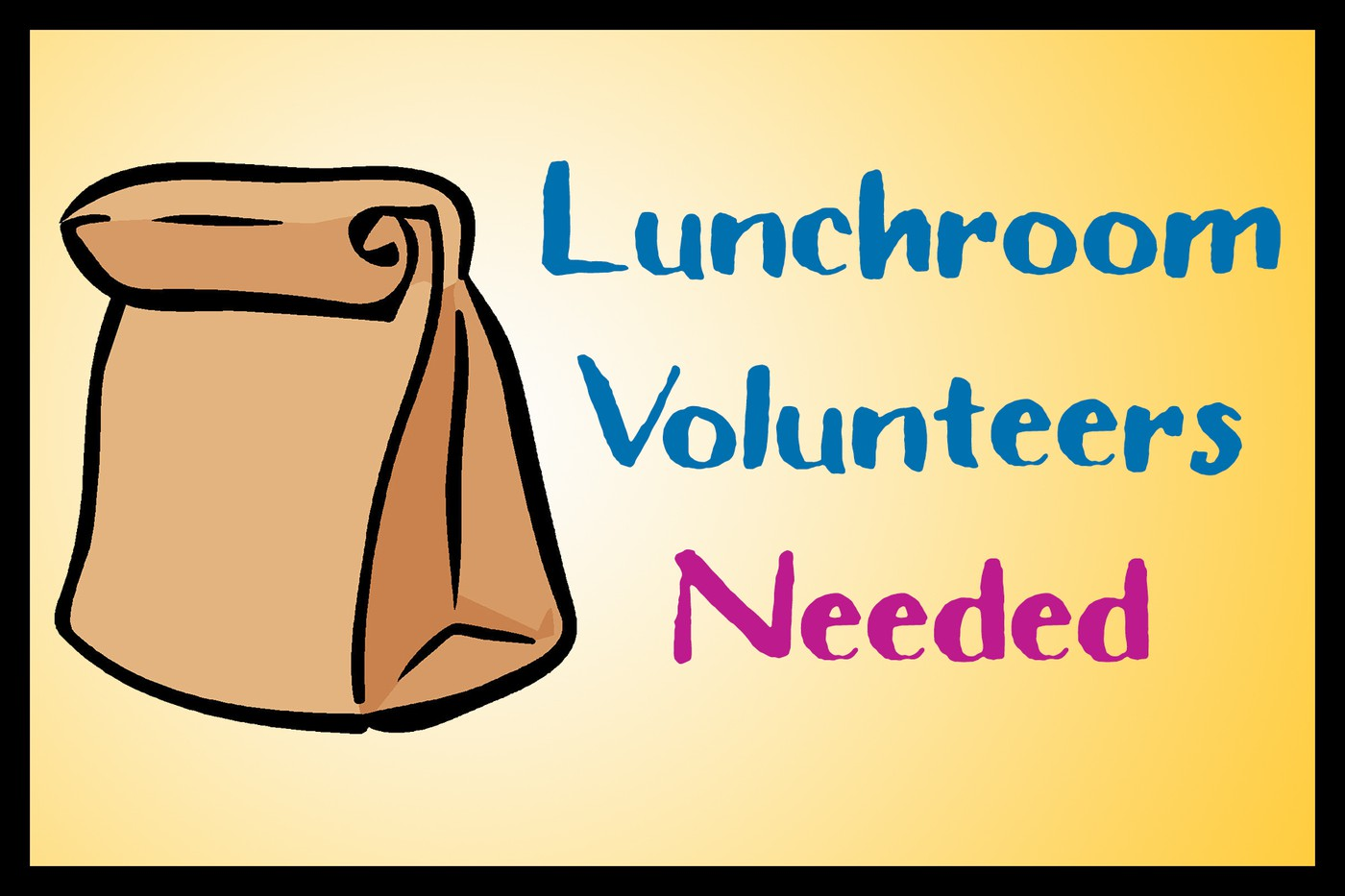 Image result for Lunchroom volunteers