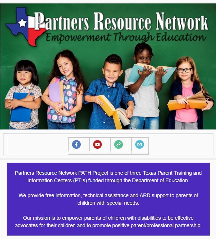 A Special Ed Partnership Makes Texas >> Parent Coordination Shout Out Smore Newsletters