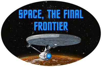 space is the final frontier The idea is that the space is the final frontier for the man to cross to be able to explore new worlds the previous frontiers would have been on earth itself, when mankind crossed oceans to explore new continents, for example.
