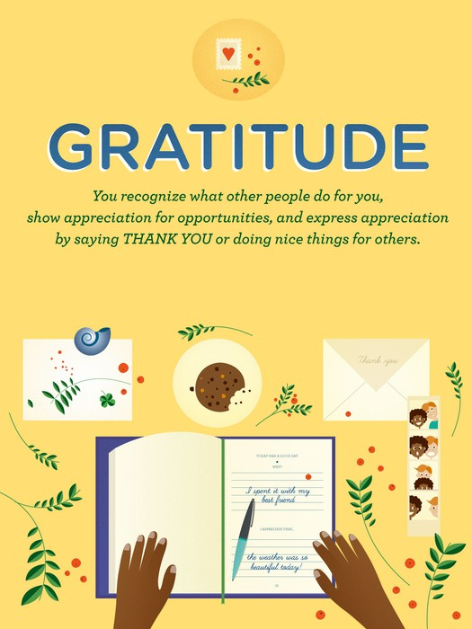 Image result for gratitude character lab