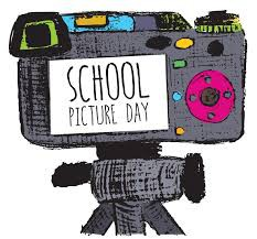"""Artist rendering of camera saying """"school picture day"""" in viewing window"""