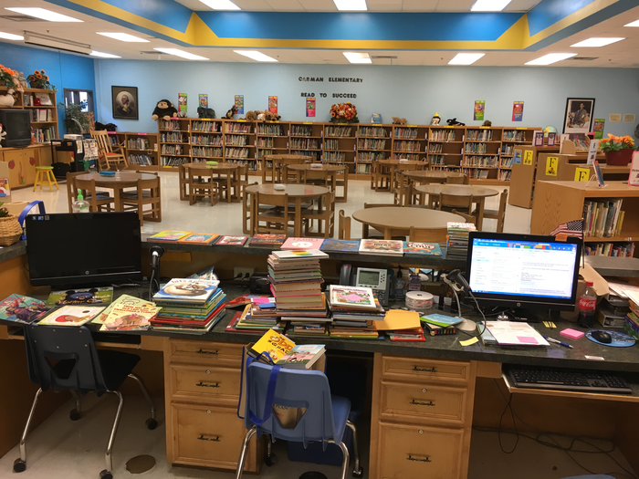 Carman Elementary Library | Smore Newsletters