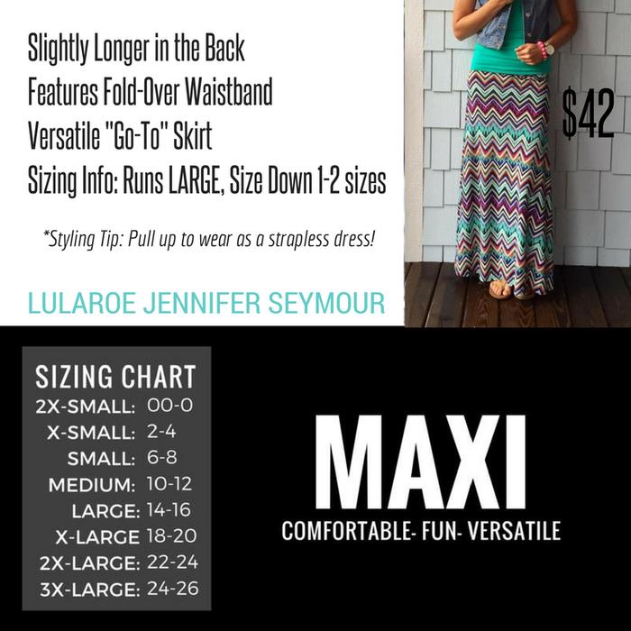 3a6b468b0 LuLaRoe Jennifer Seymour | Smore Newsletters