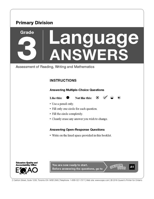 Understanding the EQAO Assessments | Smore Newsletters for
