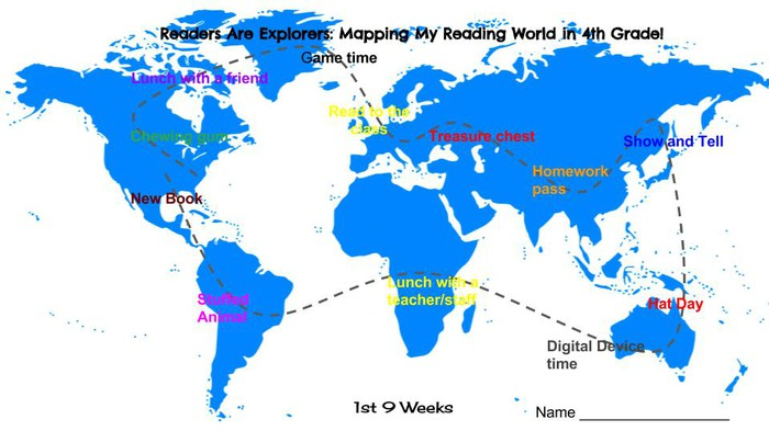 Mapping our reading world smore newsletters for education mapping my reading world in fourth grade gumiabroncs Images