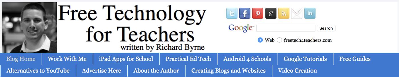 Free Technology 4 Teachers