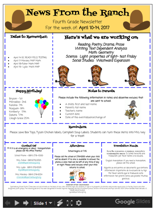 Tuesday Technology Bytes | Smore Newsletters for Education