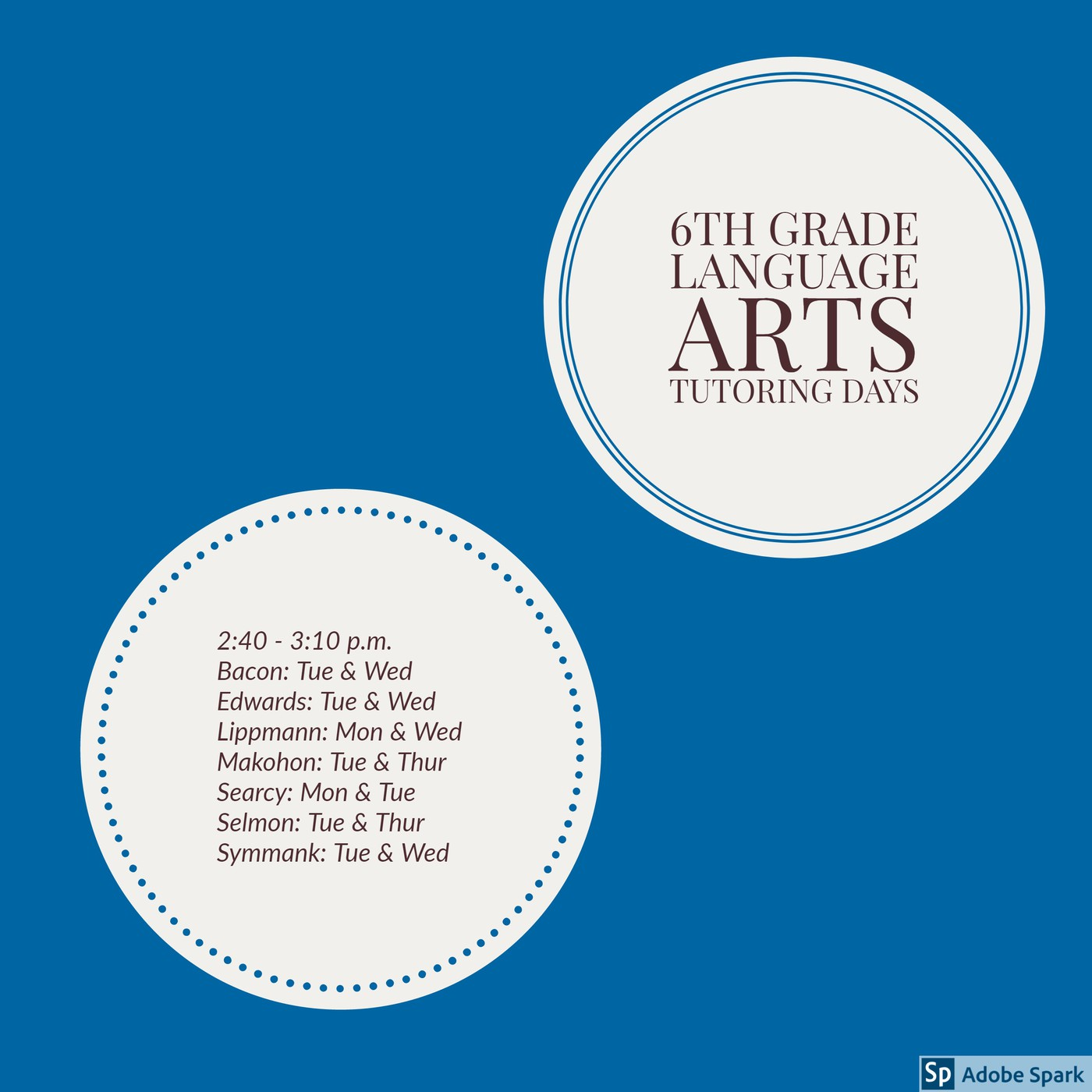 Salyards 6th Grade Language Arts | Smore Newsletters for Education