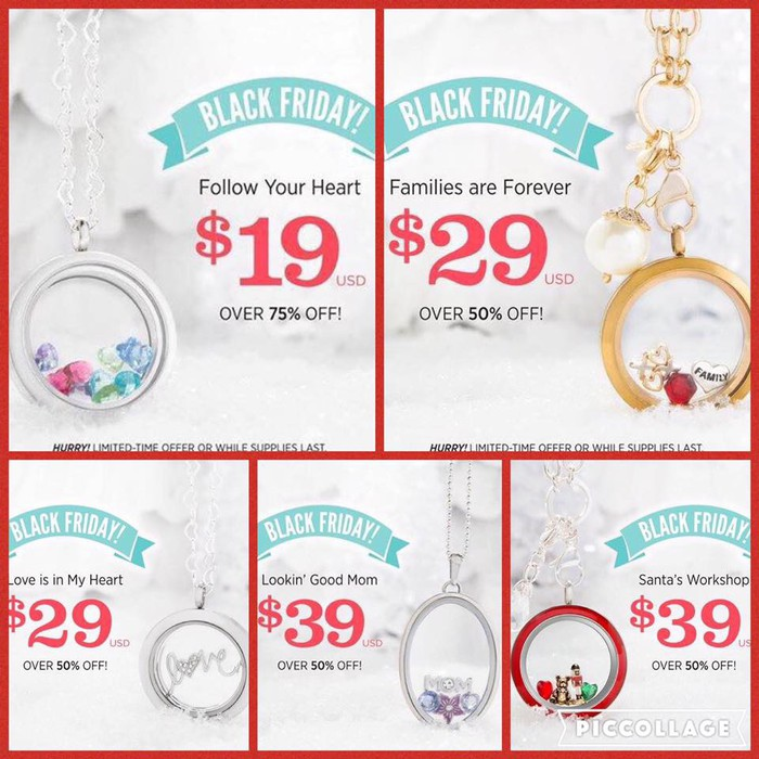 Origami Owl Black Friday Specials Smore Newsletters
