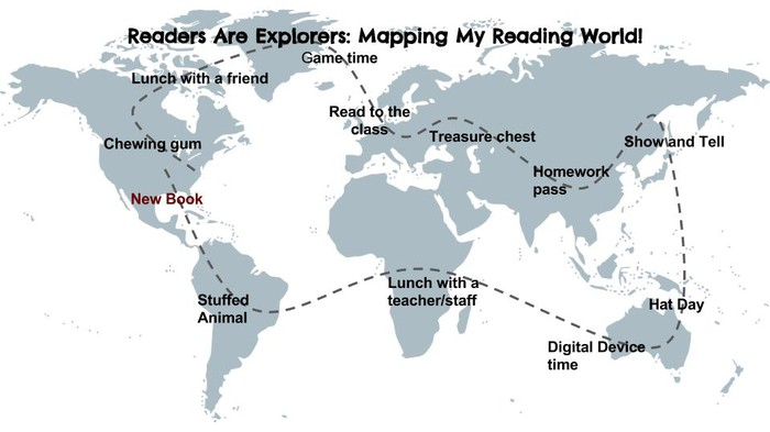 Mapping our reading world smore newsletters for education reading through the genres challenge revamped gumiabroncs Images