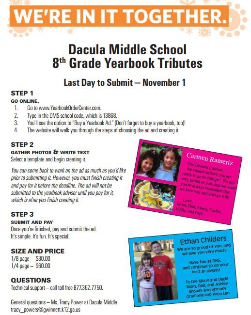 Smore Newsletters: Dacula Middle School