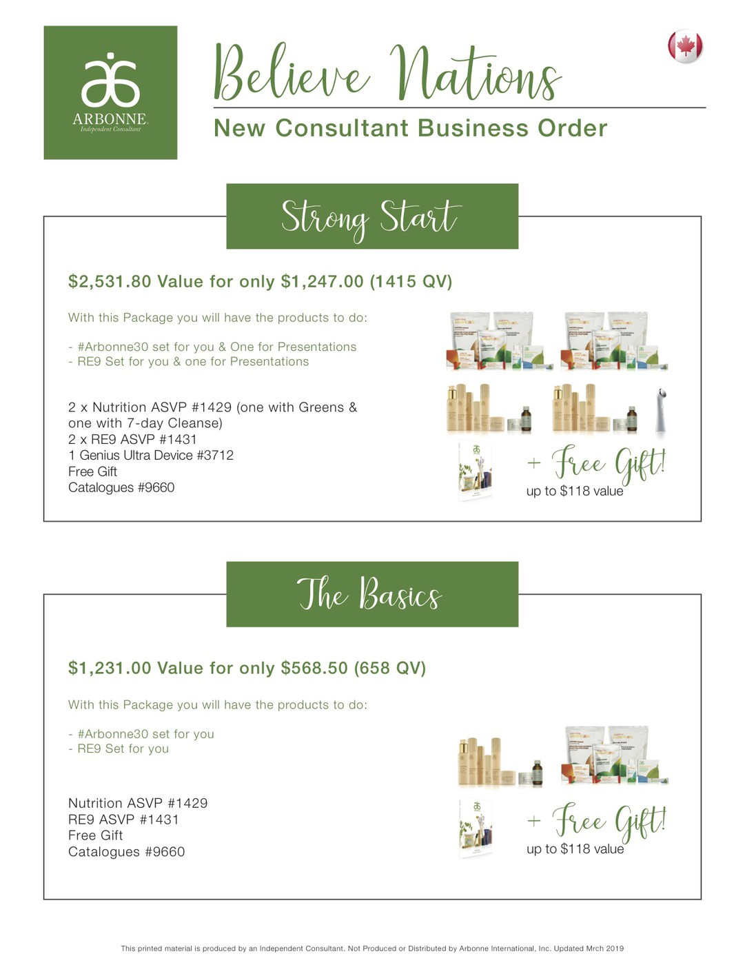 Getting Started with Arbonne | Smore Newsletters for Business