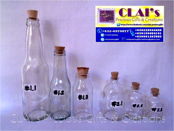 Clear Bottle With Cork Jars Smore Newsletters