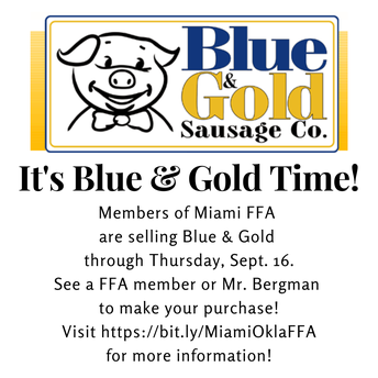 Blue & Gold Time!