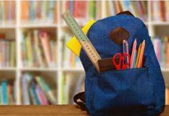 Útiles escolares recomendados de RMS