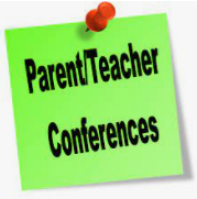 Parent-Teacher Conferences will be on October 6th and 7th. Teachers will send home a notice with your assigned date and time. Please call the school office if you have any questions.