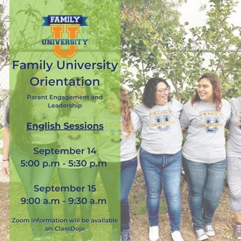 Family University Orientation