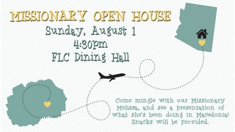 MISSIONARY OPEN HOUSE
