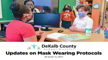 Updates on Mask Wearing Protocols