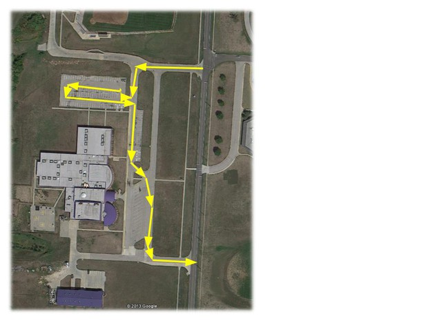 Here is a MAp for drop-off/pick-up. Please don't drop off in the morning until an adult is out front.